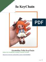 Tella Keychain by Knottellaa