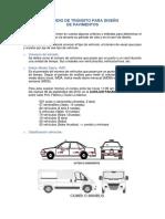 Estudio de ESAL Para Diseño de Pavimento