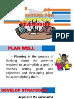 Leadership Pointers