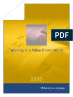 Winning in a Value driven world
