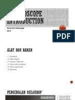Oscilloscope Introduction
