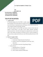 Analysis on Tiga Pilar Sejahtera.docx