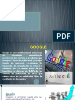 Cinco Fuerzas de Porter Google