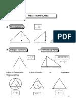 Área Triangulares
