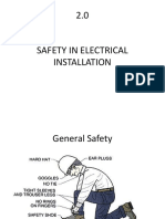 1.0 Safety in Electrical Lab
