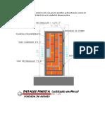analisias de p.u de una puerta metalica