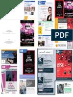 Programación Aula de Cultura de Murcia Noviembre 2019