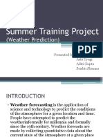 weather prediction ppt