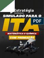 Simulado ESTRATEGIA segunda fase ITA Matemática e Química