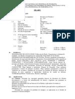 Sillabos Fluidos I IC347 2012