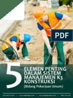 [E-book] k3 Konstruksi