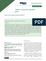 Tolerancia al aluminio en especies vegetales