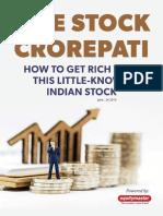 One stock crorepati