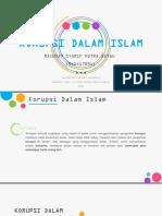 Ppt Korupsi Dalam Islam