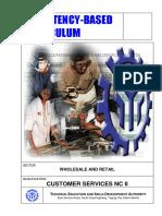 CBC Customer Services NC II