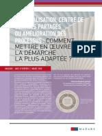 Mazars Avis dexperts Externalisation CSP Amelioration processus 200313