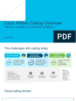 Cisco Webex Calling Overview