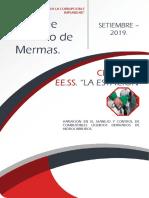Informe Técnico de Mermas Mensual