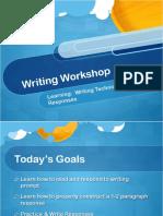 writing workshop 2019