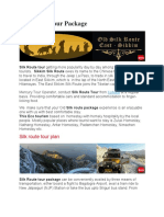 Silk Route Tour Package