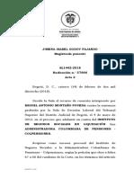 SENTENCIA SALA DE CASACION LABORAL
