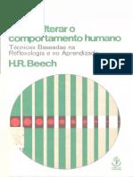 Como alterar o comportamento humano, técnicas baseadas na reflexologia e no aprendizado - Beech, H R.pdf