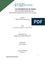 Administracion f2 Glosario Oficial