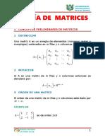 Matrices 01