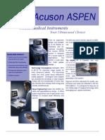 Brochure ACUSON ASPEN