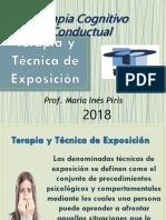 Terapia y Técnica de Exposición