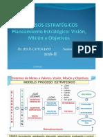 P.estr Sesión 3 y 4 2016 II Planeamiento Estrategico Visión Misión y Objetivos Copia