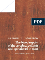 H. v. Crock M.D., H. Yoshizawa M.D. (Auth.) - The Blood Supply of the Vertebral Column and Spinal Cord in Man-Springer-Verlag Wien (1977)