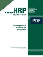 Inspection of FRP Decks