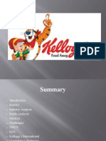 Kellogg's SWOT Analysis