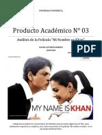 TEA Análisis película My Name is Khan