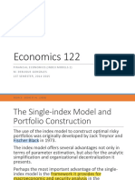 Econ 122 Lecture 15 Index Models 2