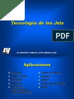 tecnologia de los jets