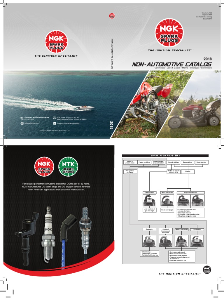 NGK Spark Plug Single Piece Pack for Stock Number 1098 or Copper Core Part No BR7HS-10