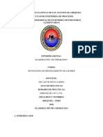 Informe de CHIMBANGO