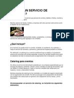 QUÉ ES UN SERVICIO DE CATERING.docx