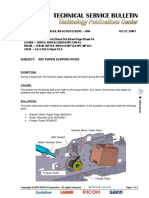 Adf Paper Slipping Noise MP161