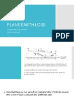 Plane Earth Loss