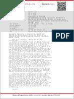 Reconocimiento Oficial DTO 315_29 JUN 2011