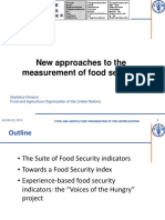 AFCAS 9d New Approaches to the Measurement of Food Security