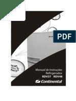 Manual de Instruções - Continental Rdv48