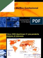 Diabetes Melitus Gestasional
