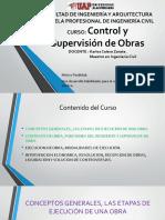1 CLASE de INTRODUCCIÓN Y Semana 10 Diferencias Entre Administración Directa y Contrata
