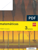 Matemáticas 3 Primaria (Primer Trimestre)