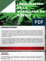 Iniciativas despenalización de mariguana México