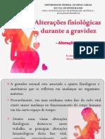 Alterações Hematologicas Na Gestação